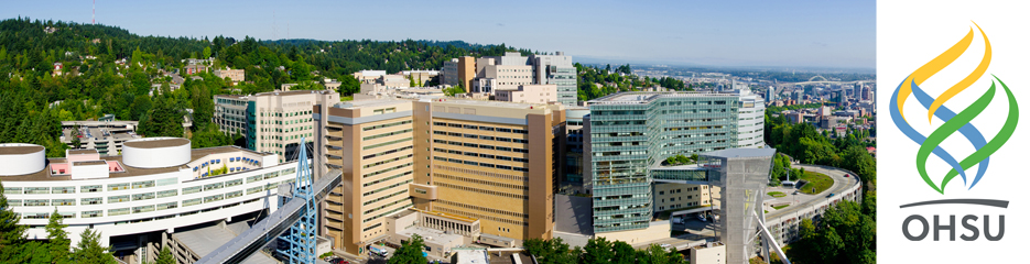 Oregon Health & Science University banner